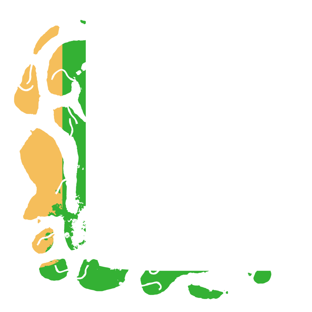 Biome Rust Map: Procedural Map, Size: 4250, Seed: 1064683142